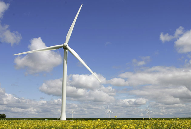 West Coast Wind Projects