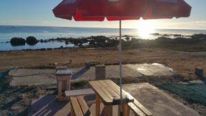 bernannas beach bar zar st helena bay