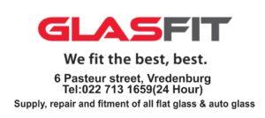 Emergency glass glasfit Vredenburg