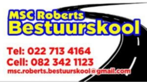 MSC ROBERTS BESTUURSKOOL